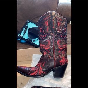 Corral vintage limited edition hummingbird boot